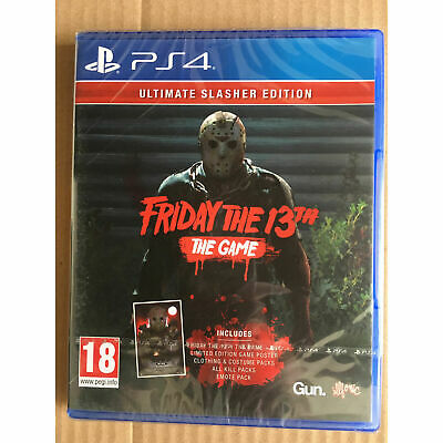 Friday the 13th The Game Ultimate Slasher Edition (PS4) New and Sealed