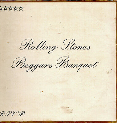 LP Vinyl THE ROLLING STONES: BEGGARS BANQUET Decca Made in Germany 1968