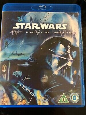 Star Wars - The Original Trilogy - Region Free Blu Ray -