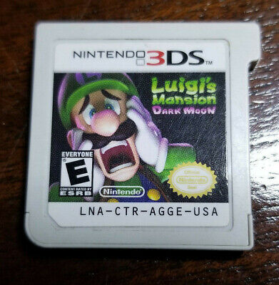 Luigi's Mansion Dark Moon Nintendo 3DS XL 2DS Cart Only