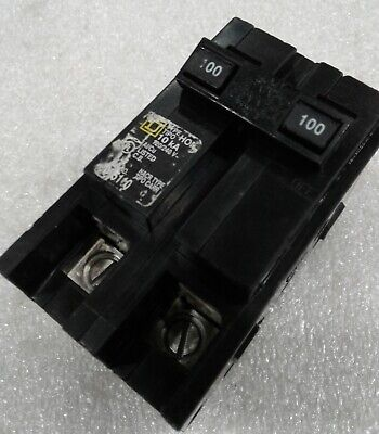 Hom2100-R Square D  2P,  100A,  240V, Reconditioned Circuit Breaker  2 Year Warr