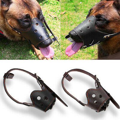 Pet Adjustable Mask Bark Bite Soft Mouth Muzzle Anti Chewing For Small Large Dog