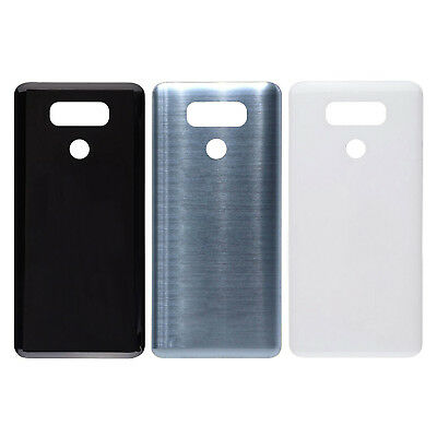 Nuovo BACK DOOR GLASS COVER + ADHESIVE Per LG G6 H870 H872 LS993