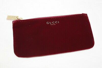 76956b8f GUCCI SPORT WHITE Clear Makeup Case Cosmetic Bag Beauty Clutch ...