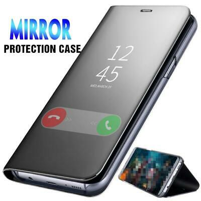 Luxury Mirror Case Huawei P Smart P10 P20 Lite P20 Pro Clear View Stand Cover