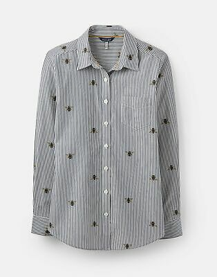 Joules 207513 Lucie Shirt in STRIPE BEE