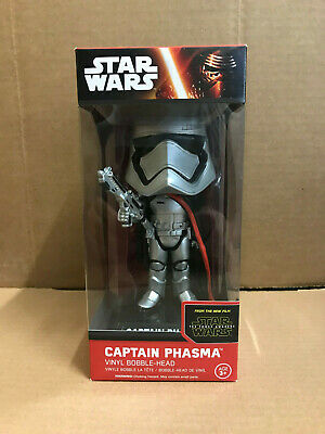 Disney Star Wars The Force Awakens Phasma Wacky Wobbler Bobblers Head Funko