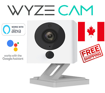 Wyze Cam v2 1080p HD Wireless Smart Home Camera with Night Vision, 2-Way Audio