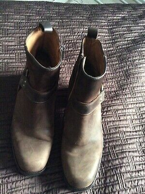 russell and bromley brown leather ringo ankle boot uk 5