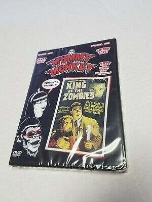 The Mummy And The Monkey Dvd King Of The Zombies Movie Horror Hosts