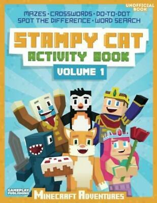 STAMPY CAT COLLECTION Adventures 3 Books Set Stampy's Lovely