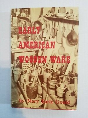 Used EARLY AMERICAN WOODEN WARE Book by MARY EARLE GOULD.