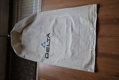 """Delta Dust Collector Bag 1 Micron TOP for 50-852 50-853  20"""" Diameter"""