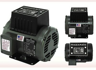 Rotary Converter 5HP (model R-5) 13.9amps/230vlt. Phase-A-Matic