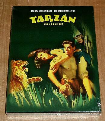 Tarzan Collection DVD Neuf 12 Films Johnny Weissmuller Action (sans Ouvrir) R2