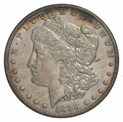 W@W Early 1898-O Morgan Silver Dollar - 90% US Coin - Nice Coin *036