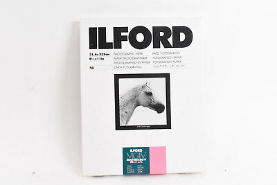 Ilford MGIV Multigrade IV RC De Luxe Glossy 8 1/2 x 11 Photo Paper 50 Sheets V54