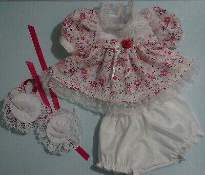 My Child Doll Party Dress - Dress - Panties - Barrettes - No Doll