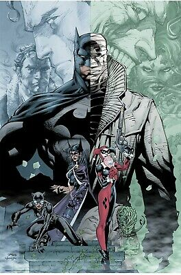 Mondo DC Batman Hush Jim Lee 24 x 36 2019 SDCC COMIC CON Exclusive LE 275