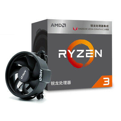 AMD Ryzen 3 2200G Processor Boxed Quad-Core 4 thread 3.5 GHz Socket AM4 65W CPU