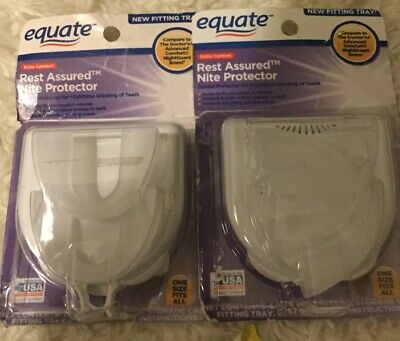 Open Box 2 Equate Rest Assured Night Protector (Compare To The Doctor's Brand)