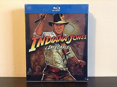 Indiana Jones : L'intégrale (blu-ray) *NEW*