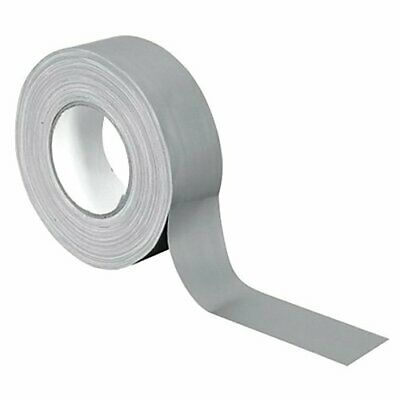 Gaffa Tape Pro 50mm x 50m plata mate