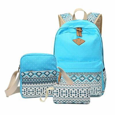 Backpack For Girls, Sugaroom School Backpack Canvas Bookbags Teen Backpacks With