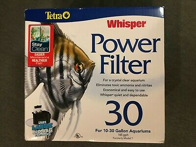 NEW Tetra Whisper Power Filter 30 for 10-30 Gallon Aquariums (Formerly Model 1)
