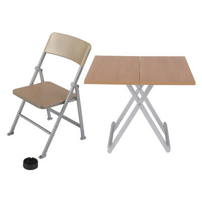 1//6 Scale Furniture Table Desk Chair for 12 inches Action Figure Solider Toy NBI
