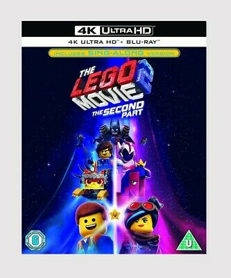 The LEGO Movie 2: The Second Part Blu-ray 4K Ultra HD Animation/Comedy/Action