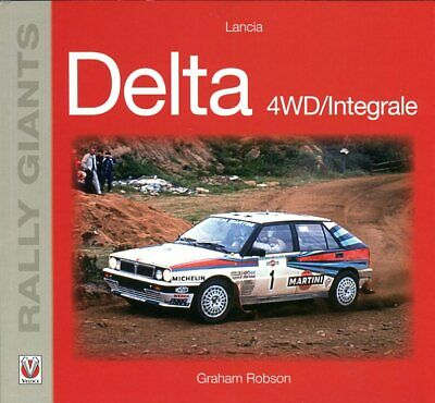Lancia Delta 4WD / integrale by Graham Robson - out-of-print book