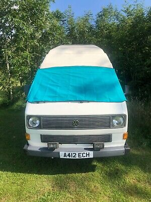 VW T25 cover deluxe wrap black out camper frost protection window van turquoise