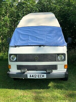 VW T25 cover deluxe wrap black out camper frost protection window van Light Blue