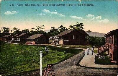 Philippines, Camp John Hay near Baguio, Summer Capital, Old Postcard