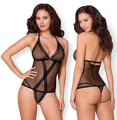 OBSESSIVE 876 Luxury Super Soft Decorative Patterned Body / Teddy