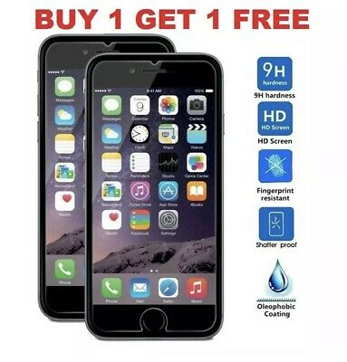 Screen Protector For Apple iPhone 7 - Tempered Glass 9H HD- Quick Despatch