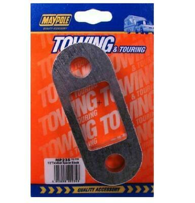 Maypole MP235 Towbar 1/2 Inch Spacer Block Towing Trailer Caravan Towball 1.25cm