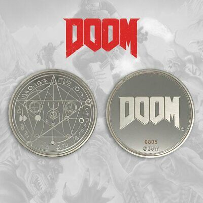 Doom - 25th anniversary limited edition coin