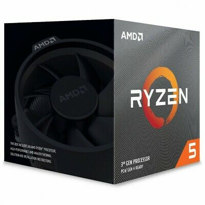 AMD Ryzen 5 3600X Six Core 4.4GHz (Socket AM4) Processor - Retail