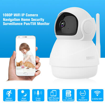 TELECAMERA PTZ 1080P FULL HD Interno IP CAMERA MOTORIZZATA IR WIFI WEBCAM