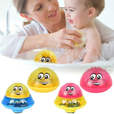 Infant Children's Electric Induction Sprinkler Lamp Baby Play Bath Toy Water Toy