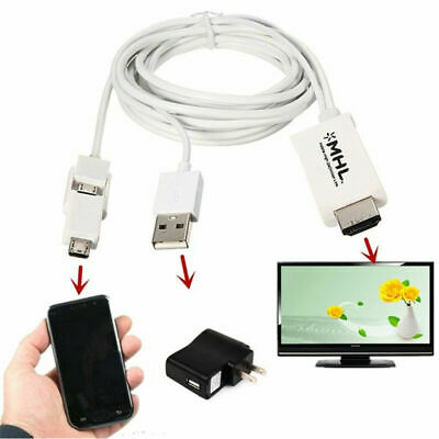 MHL Micro USB to HDMI 1080P HDTV Cables Adapter for Andriod System Phone