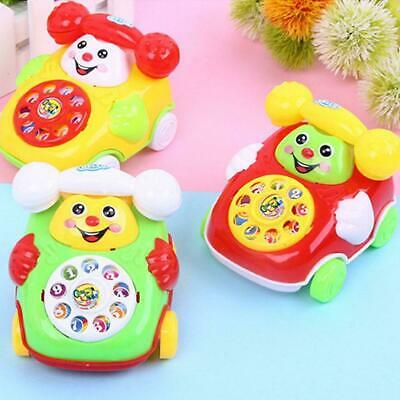 Hot Cartoon Phone Baby Toy Music Educational Developmental Kids Sa Toys New K6J4