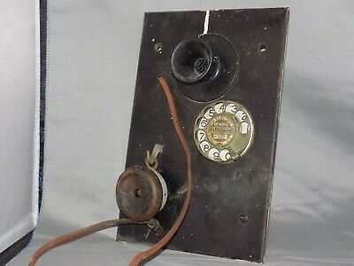 Leich Electric Company Panel Phone With Lift up Hand Held Ear Piece
