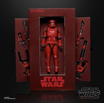IN HAND SDCC 2019 Hasbro Star Wars Black Series SITH TROOPER PREVIEW MIB