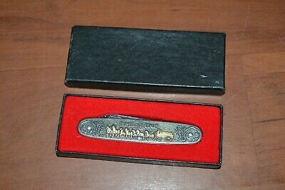 Anheuser Busch Budweiser Clydesdales Hitch 1991 Two Blade Pocket Knife in Box #6