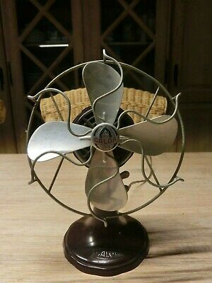 Vintage CALOR Art Deco Ventilator Bakelit Aluminium machine age design
