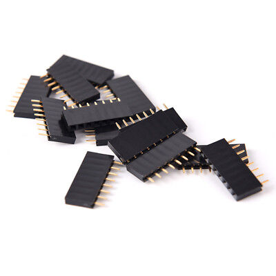 10pcs 8 Pin Female Tall Stackable Header Connector Socket For Arduino ZYUK