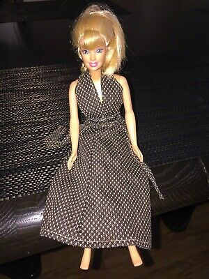 1966 Barbie Doll by Mattel Long Blond Hair Indonesia 12 Inches